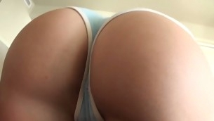 Stunning brunette be thick hair cutie sucks large dick on every side an increment of gets twat drilled